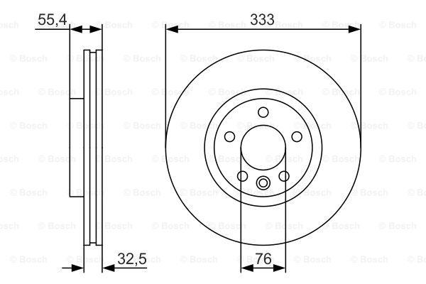 Тормозной диск MINTEX арт. 0986479S72