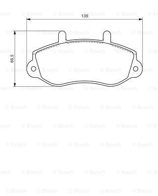 Тормозные колодки передние дисковые MINTEX арт. 0986494288