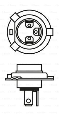 Лампа галогенная PHILIPS арт. BO 1987302041