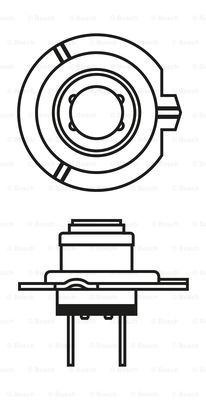 Лампа галогенная PHILIPS арт. 1987302071