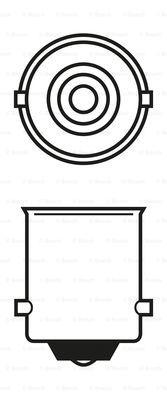 Лампа накаливания PHILIPS арт. 1987302203