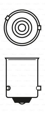 Лампа накаливания PHILIPS арт. 1987302213
