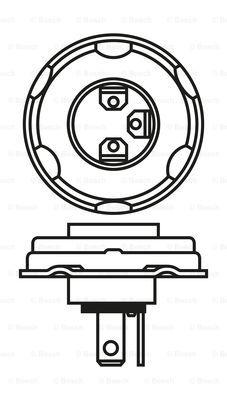 Лампа галогенная PHILIPS арт. 1 987 302 023