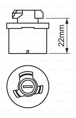 Лампа накаливания, противотуманная фара PHILIPS арт. 1987302024