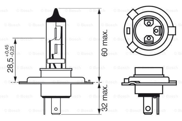 Лампа накаливания PHILIPS арт. 1 987 302 442