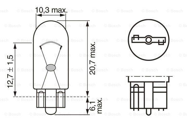 Лампа накаливания PHILIPS арт. 1 987 301 026