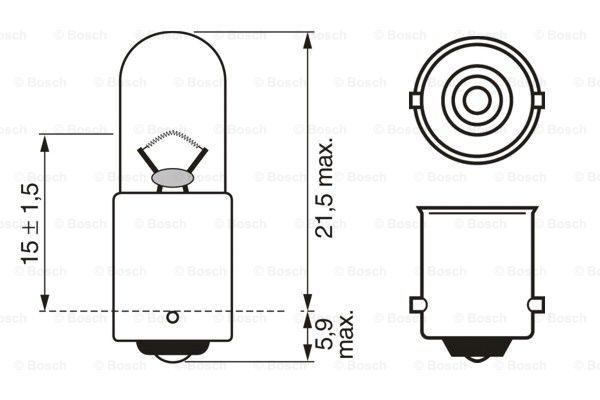 Лампа накаливания PHILIPS арт. 1 987 302 525