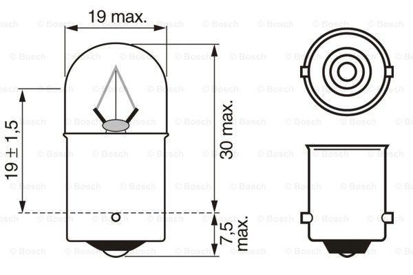 Лампа накаливания PHILIPS арт. 1 987 302 506