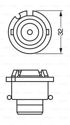 Лампа галогенная PHILIPS арт. BO 1987302904