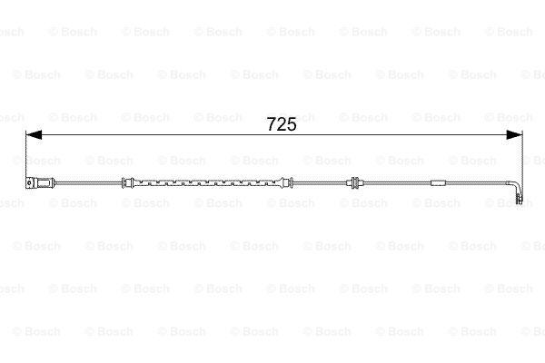 Датчик износа тормозных колодок MINTEX арт. 1 987 473 017