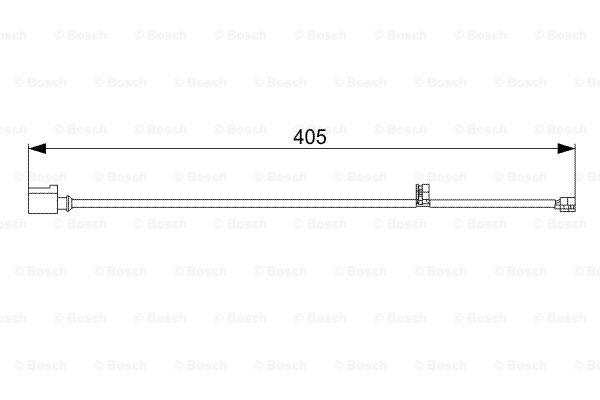 Датчик износа тормозных колодок MINTEX арт. BO 1987473025