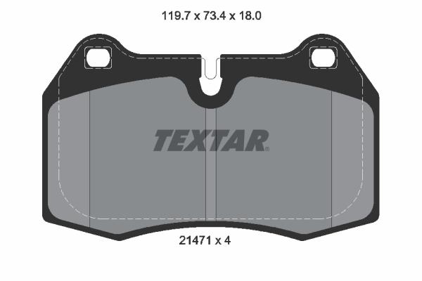 Тормозные колодки дисковые MINTEX арт. 2147102