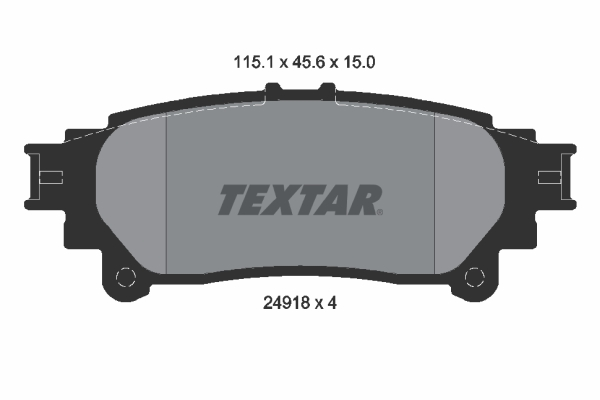 Тормозные колодки дисковые MINTEX арт. 2491801