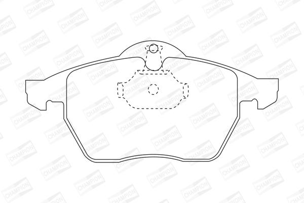 Тормозные колодки передние дисковые MINTEX арт. 571920CH