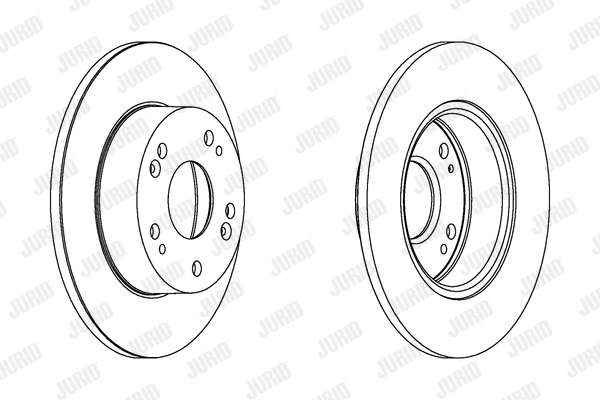 Тормозной диск MINTEX арт. 562542JC