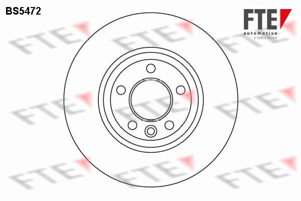 Тормозной диск MINTEX арт. BS5472