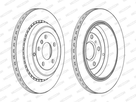 Тормозной диск MINTEX арт. DDF1531C