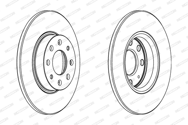 Тормозной диск MINTEX арт. DDF1784C
