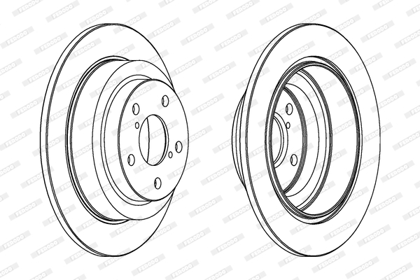 Тормозной диск MINTEX арт. FE DDF678