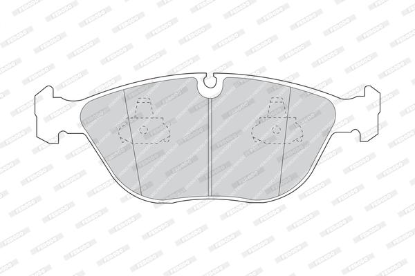 Тормозные колодки передние дисковые MINTEX арт. FE FDB1001