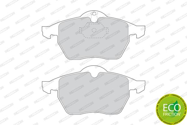 Тормозные колодки передние дисковые MINTEX арт. FDB1068
