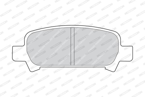 Тормозные колодки дисковые MINTEX арт. FDB1333