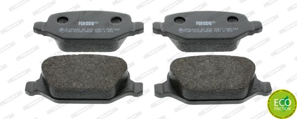 Тормозные колодки задние дисковые MINTEX арт. FE FDB1349