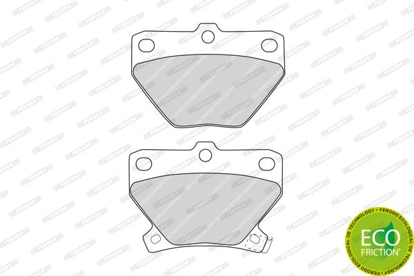 Тормозные колодки дисковые MINTEX арт. FDB1395