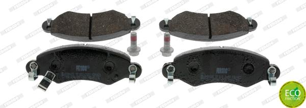 Тормозные колодки дисковые MINTEX арт. FDB1423