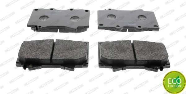 Тормозные колодки дисковые MINTEX арт. FDB1456