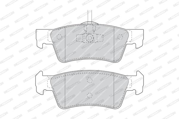 Тормозные колодки дисковые MINTEX арт. FDB1460