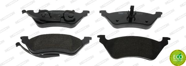 Тормозные колодки задние дисковые MINTEX арт. FDB1475