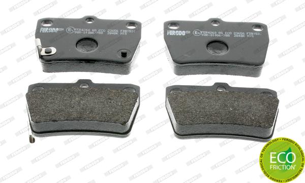 Тормозные колодки дисковые MINTEX арт. FDB1531