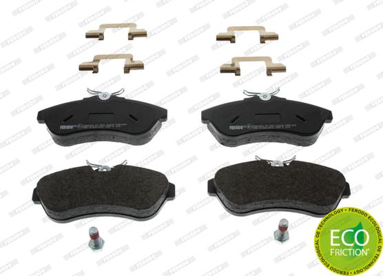 Тормозные колодки дисковые MINTEX арт. FDB1543