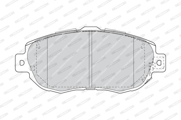 Тормозные колодки передние дисковые MINTEX арт. FE FDB1564