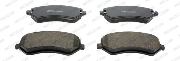 Тормозные колодки передние дисковые MINTEX арт. FDB1576