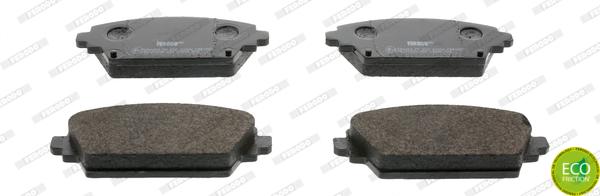 Тормозные колодки дисковые MINTEX арт. FDB1580