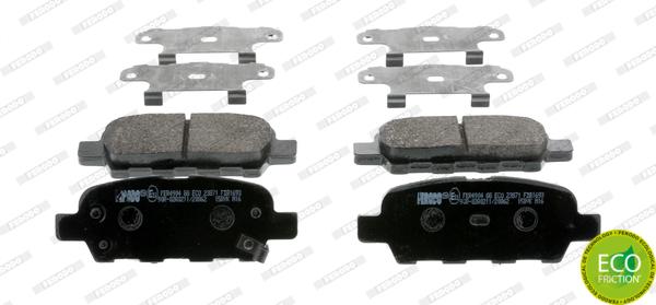 Тормозные колодки задние дисковые MINTEX арт. FDB1693