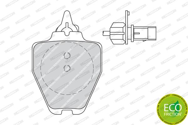 Тормозные колодки дисковые MINTEX арт. FDB1709