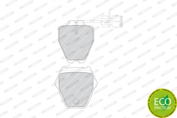 Тормозные колодки дисковые MINTEX арт. FDB1710