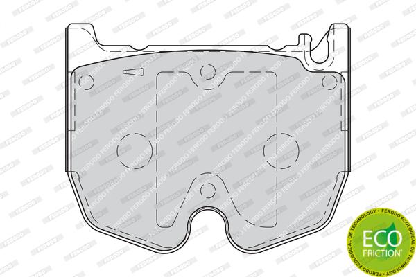 Тормозные колодки дисковые MINTEX арт. FDB1810