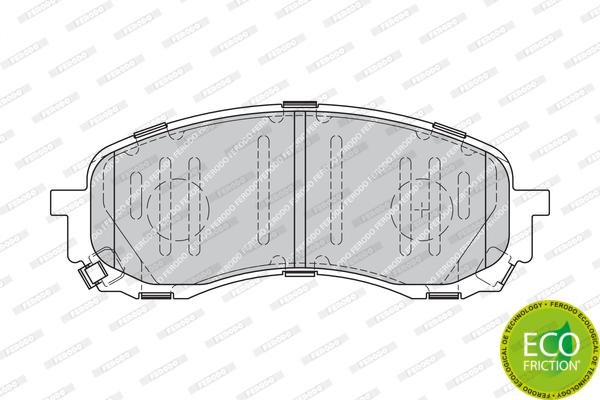 Тормозные колодки дисковые MINTEX арт. FDB1863