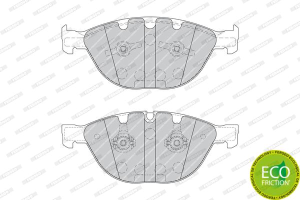 Тормозные колодки дисковые MINTEX арт. FDB1883