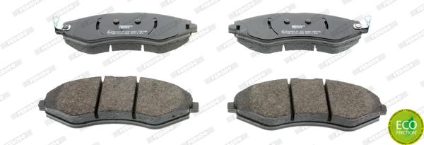 Тормозные колодки передние дисковые MINTEX арт. FE FDB1905