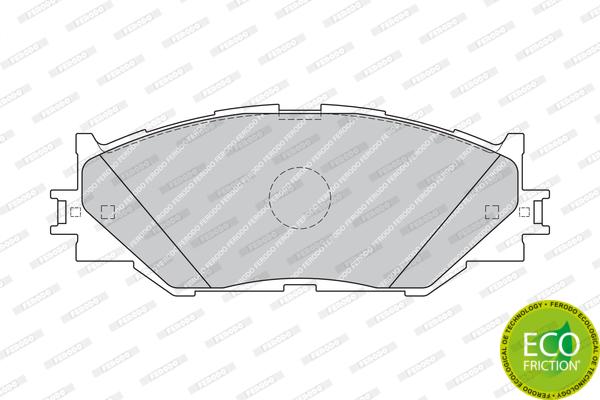 Тормозные колодки дисковые MINTEX арт. FDB1936