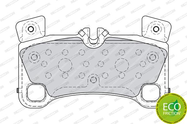 Тормозные колодки дисковые MINTEX арт. FDB4065