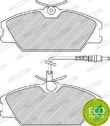 Тормозные колодки дисковые MINTEX арт. FDB406