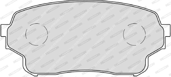 Тормозные колодки дисковые MINTEX арт. FDB4077