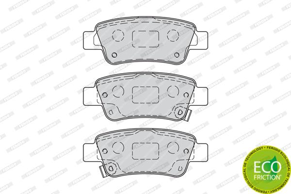 Тормозные колодки дисковые MINTEX арт. FDB4233