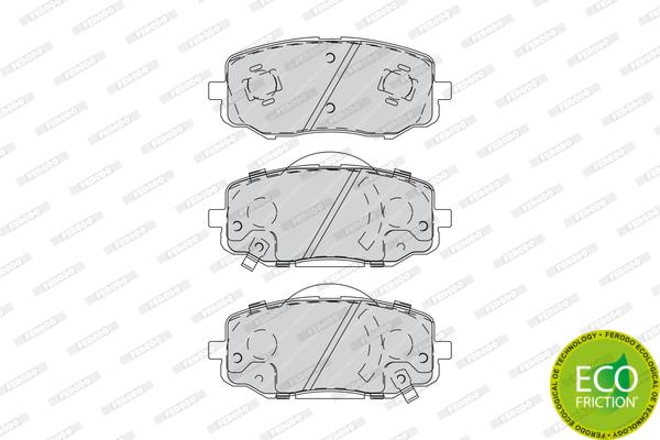 Тормозные колодки дисковые MINTEX арт. FDB4234